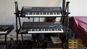 Roland JUNO-106 and JUPITER-6