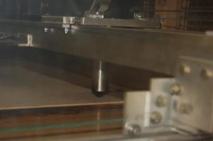 Laser cutting rig
