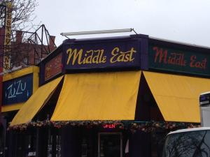 The Middle East, Central Square, Cambridge