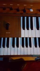 The old Yamaha organ